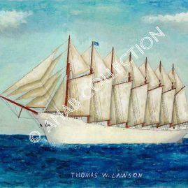 Thomas W. Lawson #15